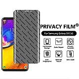 Bildschirmschutzfolie für LG V35 ThinQ – [2er-Pack] Anti-Spy Soft Film Bildschirmschutzfolie Schutzfolie für LG V35 THINQ 2018 (weiche Folie)