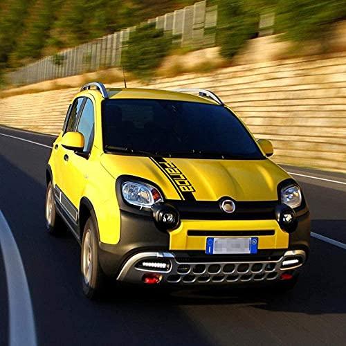 Etiqueta engomada de la Raya Lateral del Coche para FIA-T Panda 4X4 Cross Off Road Pegatinas de Coche, Accesorios del Coche, Calcomanías y pegatinas de automoción