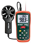 Extech CFM/CMM Mini Thermo-Anemometer with built-in Infrared Thermometer