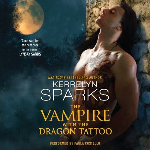 The Vampire with the Dragon Tattoo cover art