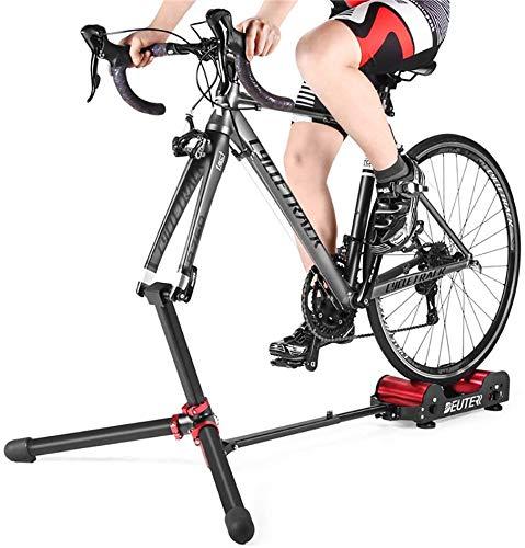 Rodillo para Bicicleta Entrenador De Rodillos Para Bicicletas, Resistencia Indoor Home Ejercicio...