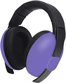 MeterMall Baby Kids Anti Noise Earmuffs Headset Hearing Protection Ear Defenders Sleeping Headphone purple
