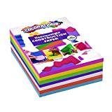 Colorations BRITESTK Bright Construction Paper Smart Pack Multicolor Variety Pack Classroom Supplies for Kids...