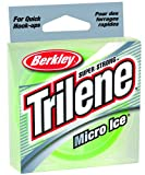 Berkley Trilene Micro Ice , Solar, 110-yard/6-pound