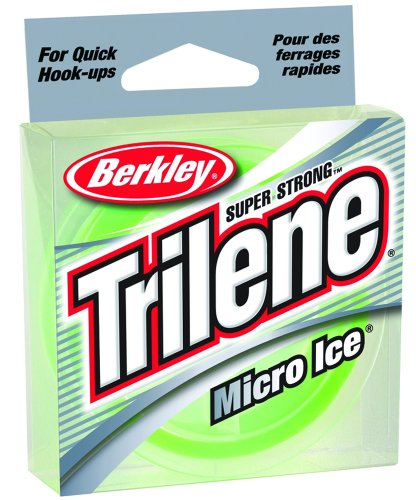 Berkley Trilene Micro Ice , Solar, 110-yard/6-pound