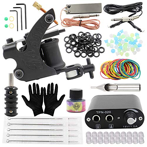 Tattoo Machine Kits - Yuelong Complete Tattoo Kits Liner Shader...