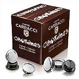 Caffè Carracci, Capsule Compatibili Lavazza A Modo Mio, Milano 100% Arabica - totale 100...