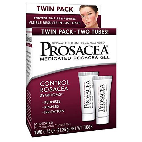 Prosacea – Controls Maskne Rosacea Symptoms of Redness, Pimples & Irritation – Twin Pack – Two 0.75oz Tubes (1.5oz Total)
