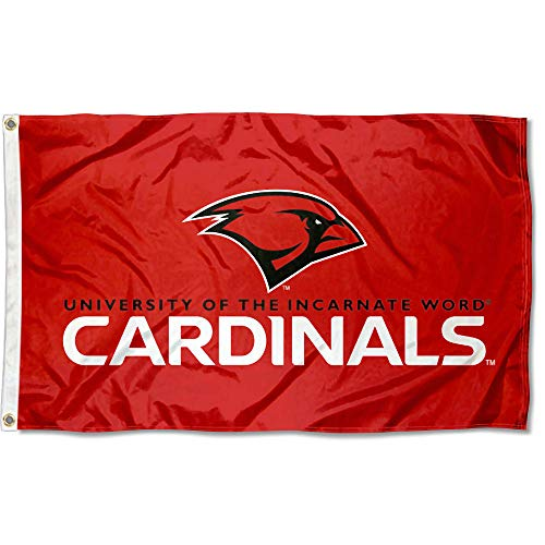 College Flags & Banners Co. Incarnate Word Cardinals Wordmark Flag