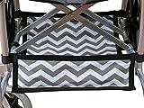 Foldable Wheelchair Under Seat Storage Bag, Wheelchair Underneath Carrier, Wheelchair Under Seat Basket, Wheelchair Bag, Wheelchair Accessories, Wheelchair Underneath Bag, Chevron Cotton Canvas