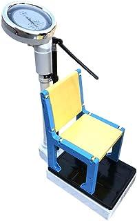 Básculas mecánica de precisión - Altura y Escala de Peso - Detector de la Salud del niño con la Silla, Estructura mecánica Pura, sin batería/Button.160CM / 50KG
