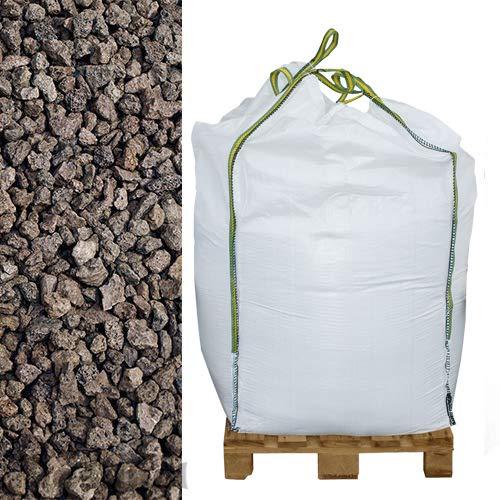 Preisvergleich Produktbild Hamann Lava-Mulch Rot 16-32 mm Big Bag 600 l - für Rasengittersteine,  Pflanzsteine & Blumenkübel eingesetzt