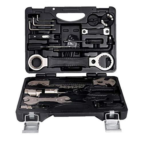Outils professionnels d'entretien de vélos, réparation de vélo Outils Set Kit multifonctions avec...