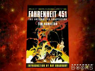 Ray Bradbury S Fahrenheit 451 The Authorized Adaptation Ray Bradbury Graphic Novels 9780809051014 Tim Hamilton Ray Bradbury Books
