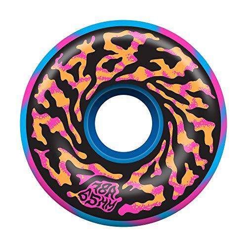 Slime Balls Skateboard-Räder, Swirly Swirl 78a, Pink/Blau, 65 mm