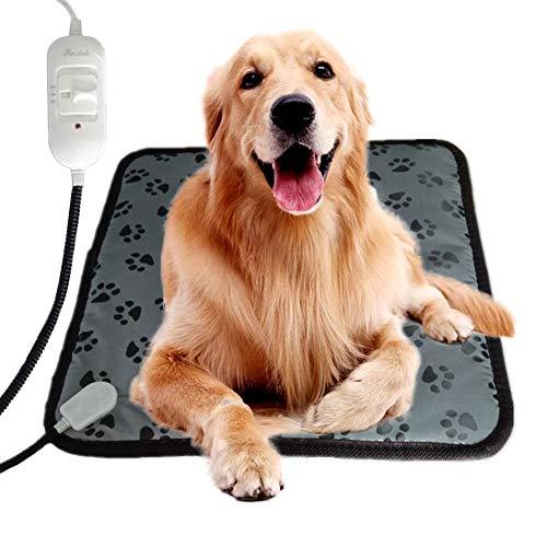 Lucky Ocean - Cojín térmico para mascotas de compañía para cama de gato y perro, ideal para mascotas y mascotas con cordón de acero resistente