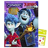 Disney Onward Coloring and Activity Book Bundle - Onward Coloring Book with Bonus Stickers (Onward Party Supplies)