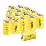 SudC 12//15 unidades Bater/ías recargables Anmas Box NiCd 4//5 con pesta/ña 1800/mAh 1,2/V