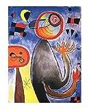 1art1 Joan Miró - Les Échelles En Roue De FEU Traversent
