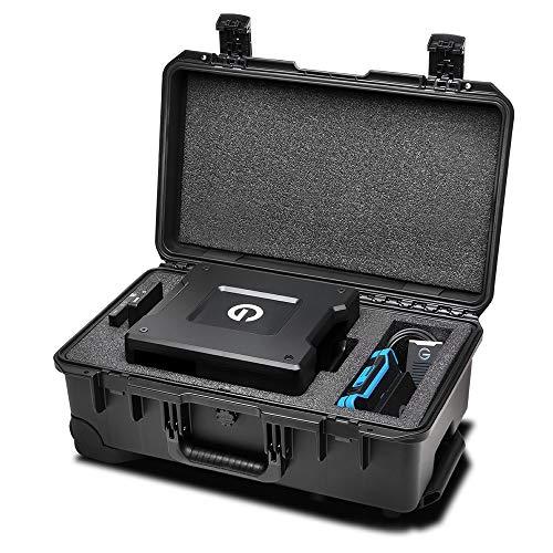 G-Technology Pelican Storm iM2500 Briefcase/Classic Case Noir - Étuis pour équipements (Briefcase/Classic Case, Noir, 358 mm, 551 mm, 226 mm, 6,2 kg)