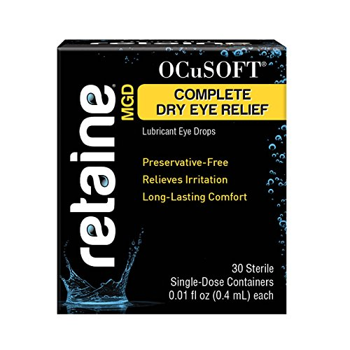 Ocusoft Retaine MGD Ophthalmic Emulsion, Milky White Solution, 30 count Single Use Containers,...