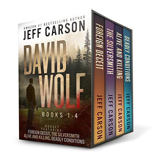 The David Wolf Mystery Thriller Series: Books 1-4 Titelbild