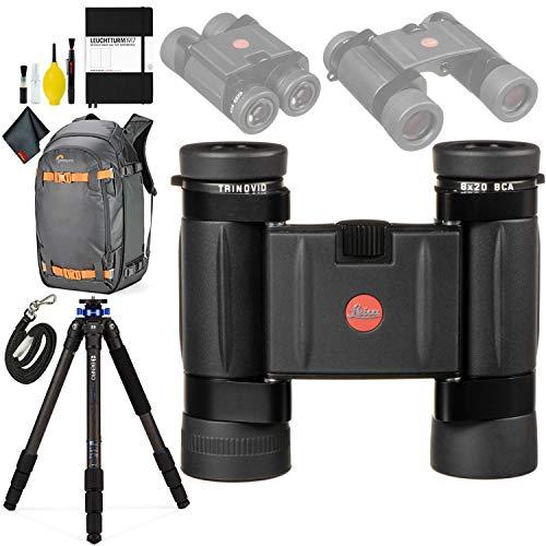 Buy Leica 8x20 Trinovid BCA Binocular + Mach3 Tripod Ser 2 Carb 3 Sect + Hardcover Notebook + Whistl...