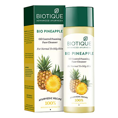 Biotique Pineapple Fresh Foaming Cleansing Gel for Normal To Oily Skin