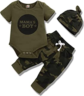 Sponsored Ad - Baby Girl Clothes Newborn Outfits 3Pcs Infant Floral Short Sleeve Romper Shorts Set + Headband