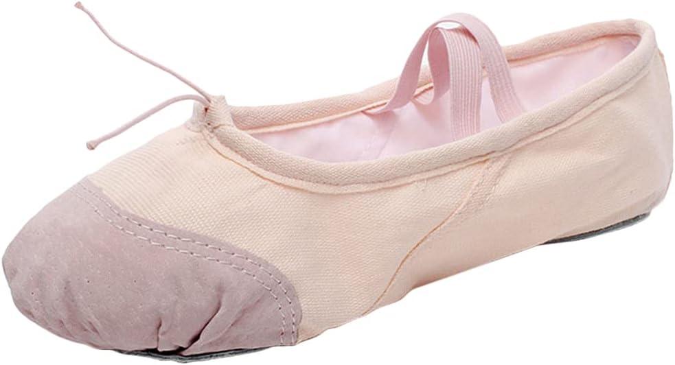 Lnrueg Ballet Shoes Split Sole Dancing Shoes Gymnastic Slippers Ballet Shoes Body Dance Shoes Yoga Shoes