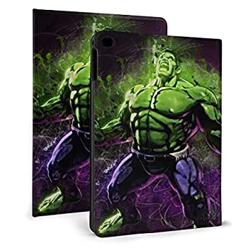 Superhero Hulk Case Fit IPad air1/2 9.7 Inch Case with Ultra Slim Lightweight Stand Leather Case/Auto Wake Sleep