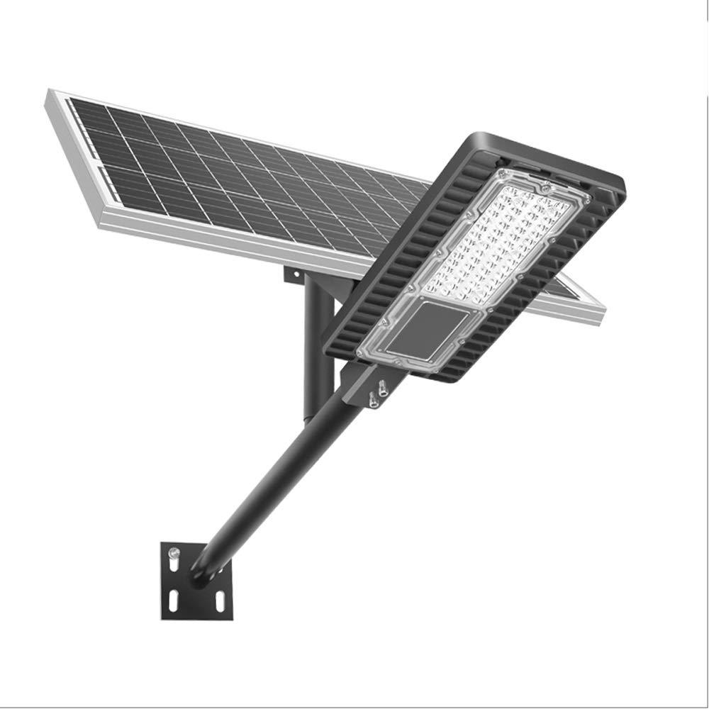 Solar actualizado Farola, LED anochecer hasta el Amanecer del Reflector con Mando a Distancia, IP65 Impermeable for el Camino del jardín Zona al Aire Libre de iluminación: Amazon.es: Jardín