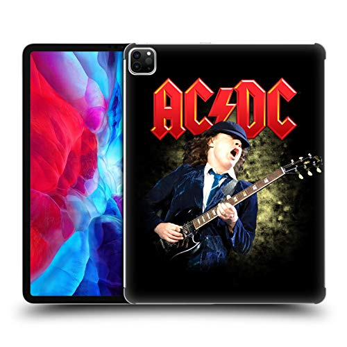 Official AC/DC ACDC Angus Young Guitar Solo Hard Back Case Compatible for Apple iPad Pro 12.9 (2020)