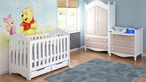 Children's Beds Home Cunas para Bebés con Cajones