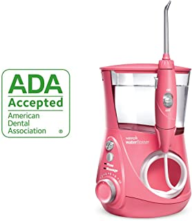 waterpik 潔碧 ADA認證 WP-674 Aquarius 沖牙器 Pink 需配變壓器
