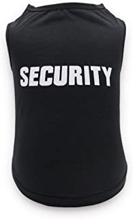 Best black security dog shirt Reviews