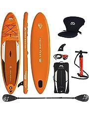 Aqua Marina Fusion 2021 Opblaasbaar supboard, stand-up paddle in complete verpakking, 330 x 81 x 15 cm