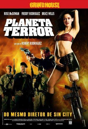 Grindhouse – Planet Terror/Death Proof – Brazilian Film Poster Plakat Drucken Bild - 30.4 x 43.2cm Größe Grösse Filmplakat Robert Rodriguez