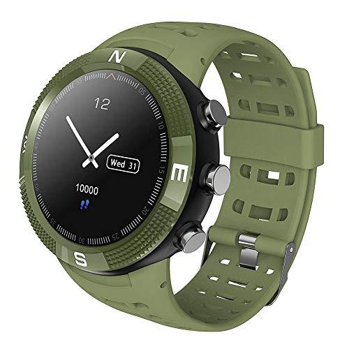 Fitness Tracker Sport Horloge GPS Outdoor Smartwatch Waterdichte Armband Pedometervoor Slaap Monitor Gezondheid Conditie Smartwatch