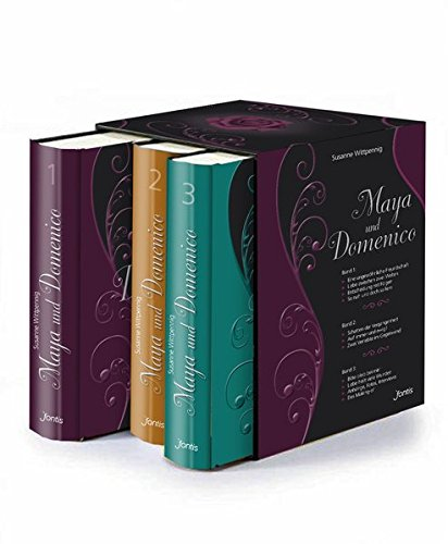 """Die komplette """"Maya und Domenico""""-Serie im Schuber (3 Bücher): Extended Edition mit Erweiterungen, Anhängen, Fotos & Interviews"""