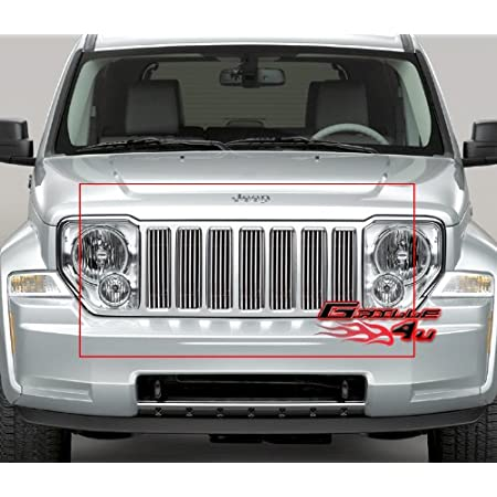 Compatible with 2004-2006 Kia Amanti Vertical Billet Grille Grill Insert S18-V60078K