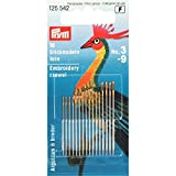 Prym assortiti crewel aghi da cucito, Gold Eye, pack 16...