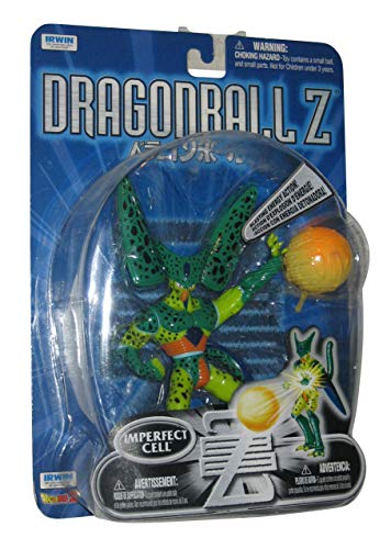 """Dragonball Z - 5"""" DELUXE IMPERFECT CELL Action Figure - IRWIN image"""