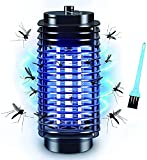 Bug Zapper, Electric Bug Zapper, Bug Zapper Indoor and Outdoor, Powerful Electric Mosquito Killer, Fly Zapper with Blue Lights for Patio, Garden, Kitchen