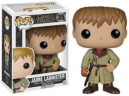 YUEDAI Juego de Tronos - Jaime Lannister en Caja Adornos Juego De Tronos Regalos Figura Coleccionable 10CM