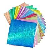 Demarkt–150hojas de papel origami Papel de interfaz de guardería faltpapier Navidad Origami (Multicolor) 15cm * 15cm