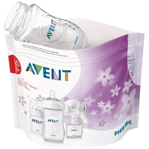 Philips Avent SCF297/05 Buste per Sterilizzazione a Vapore nel...