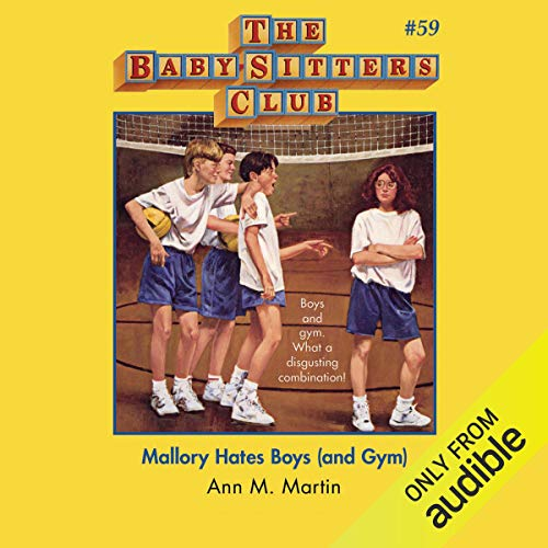 Mallory Hates Boys (and Gym) audiobook cover art