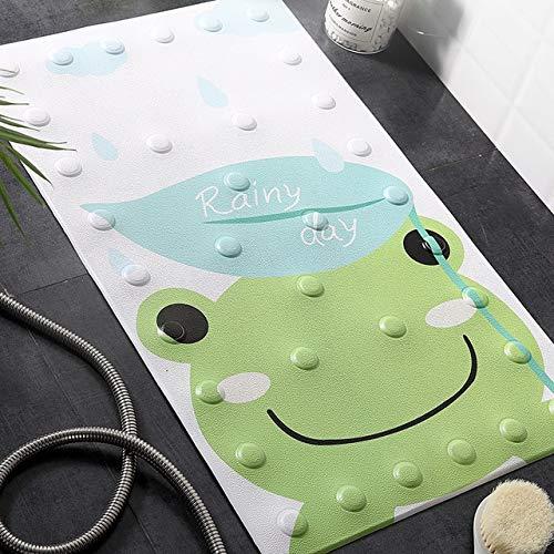 MYSdd 1 x Alfombrilla de Ducha de baño con Ventosa, Alfombrilla de baño Antideslizante de Seguridad para bebés, Alfombrilla de Masaje de Poliuretano Animal Katong, Aproximadamente 50 x 80 cm