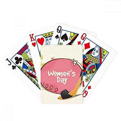Wysokie obcasy dzień kobiety wzór poker gra magiczna karta zabawa gra planszowa